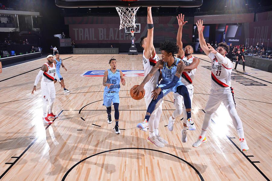 Memphis Grizzlies v Portland Trail Blazers Photograph by Jesse D. Garrabrant