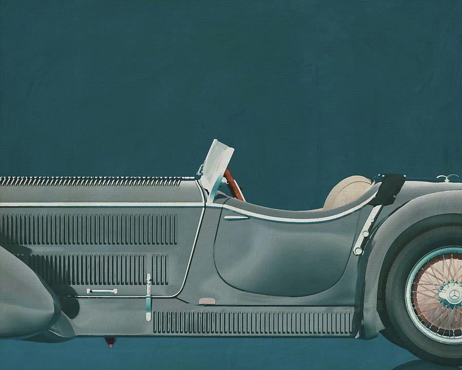 Mercedes - Benz SSK710 1930 by Jan Keteleer