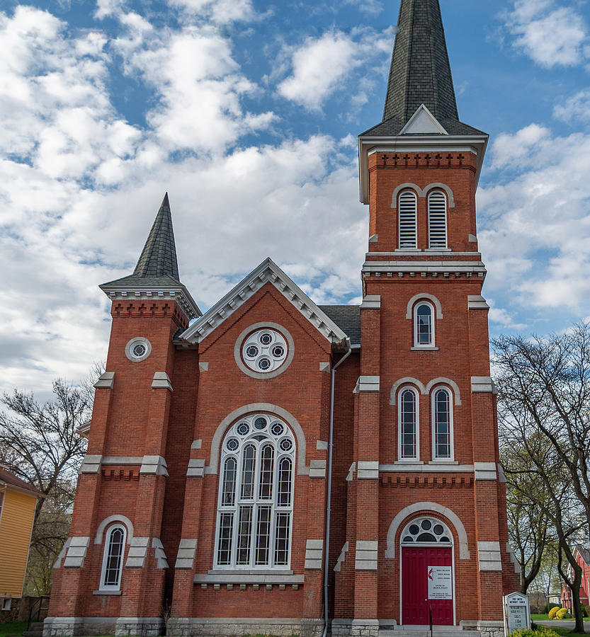 Methodist Church by Mary Courtney