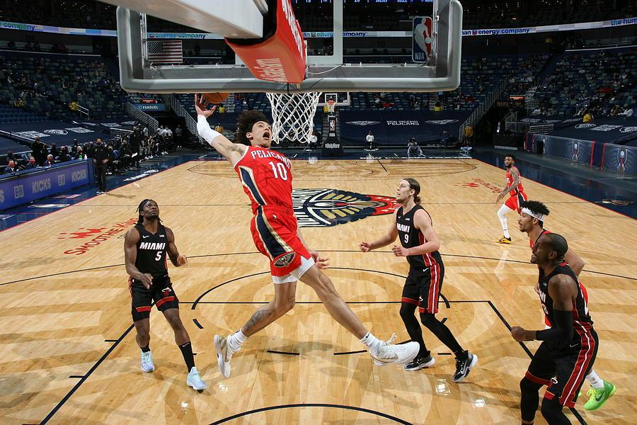 Miami Heat v New Orleans Pelicans Photograph by Layne Murdoch Jr.