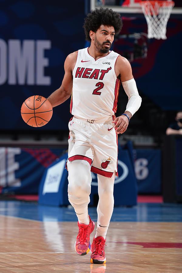 Miami Heat v Philadelphia 76ers Photograph by David Dow