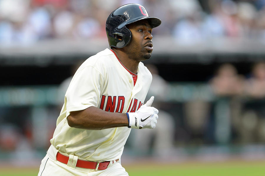Michael Bourn Photograph by Jason Miller