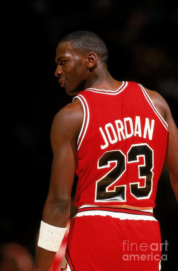 Michael Jordan Photograph by Scott Cunningham