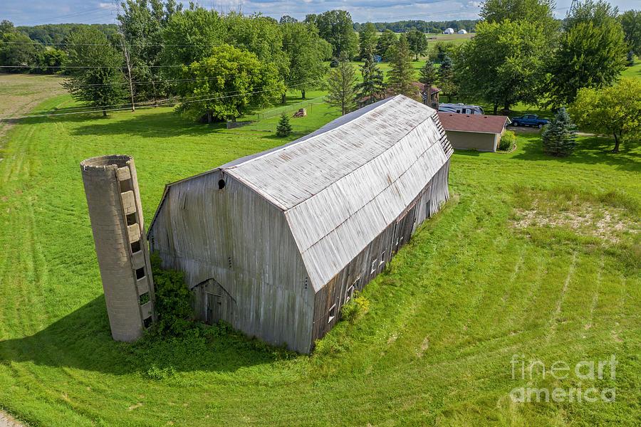 Michigan Barn Photograph