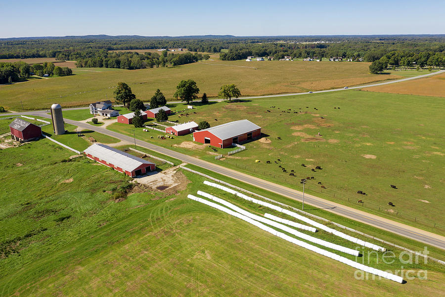 Michigan Farm Photograph