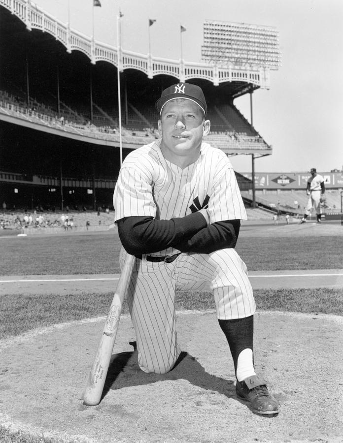 Mickey Mantle Photograph by Louis Requena