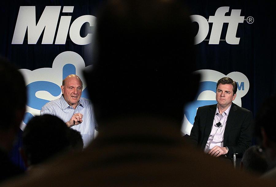 Microsoft Announces Skype Acquisition For 8.5 Billion Photograph by Justin Sullivan