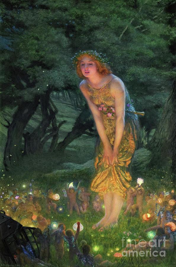Midsummer Eve 1908 Painting