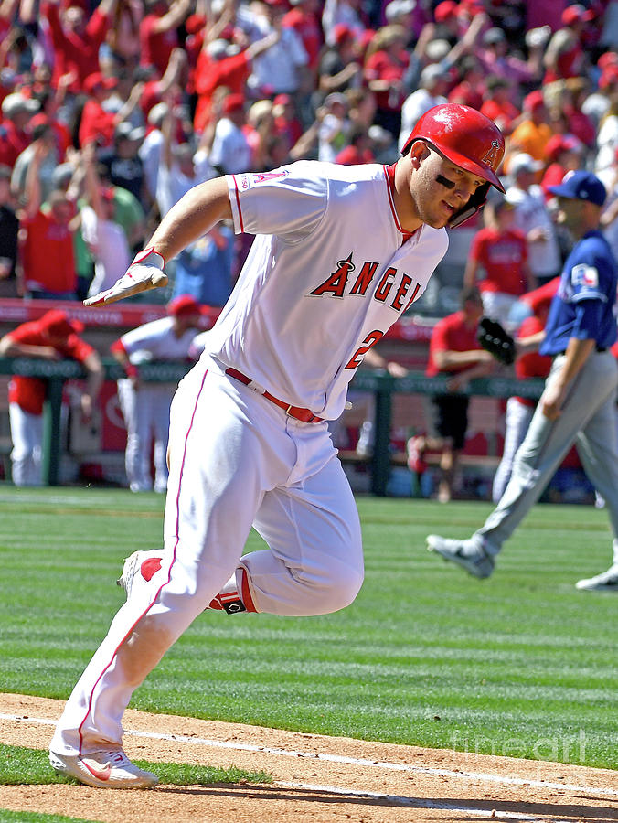 Mike Trout Photograph by Jayne Kamin-oncea