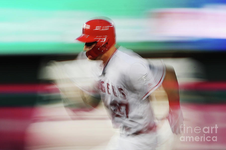 Mike Trout Photograph by Patrick Smith