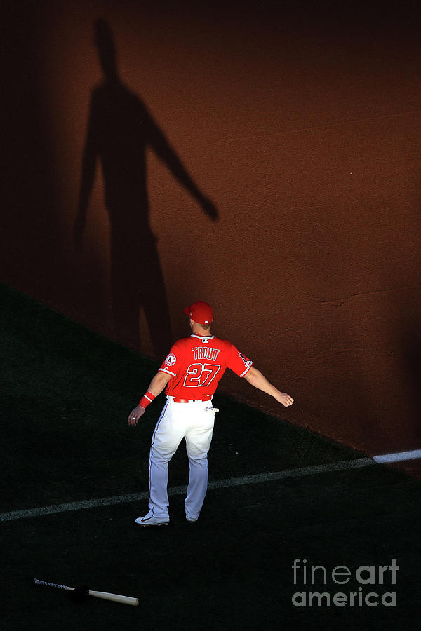 Mike Trout Photograph by Sean M. Haffey