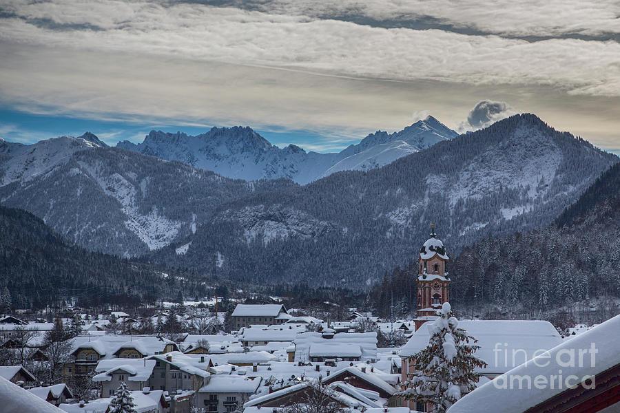 Mittenwald in Winter by Fabian Roessler
