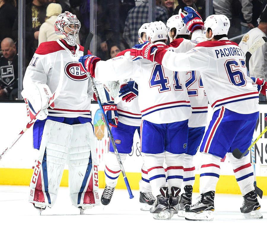 Montreal Canadiens v Los Angeles Kings Photograph by Harry How