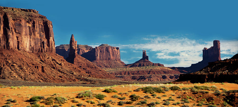 Monument Valley Morning Photograph
