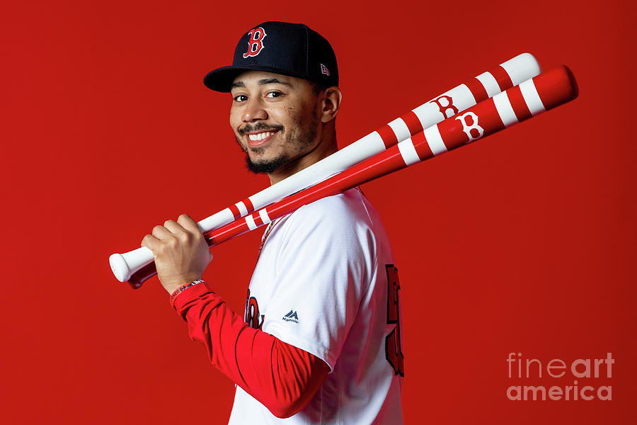 Mookie Betts Photograph by Billie Weiss/boston Red Sox