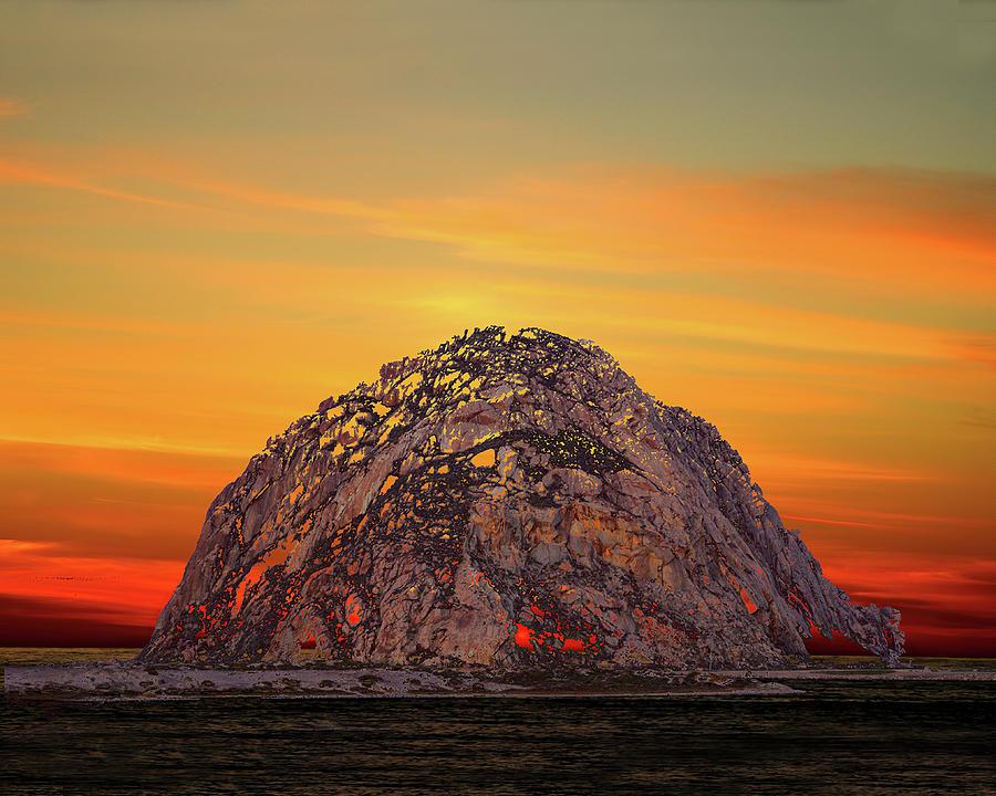 Morro Rock 3007 Photograph
