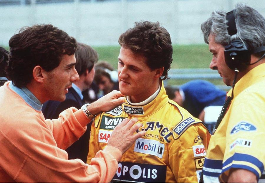 Motorsport/formel 1: Gp Von Belgien 1992 Photograph by Bongarts