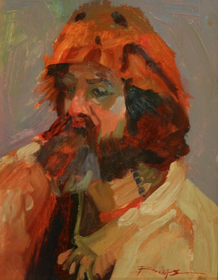Mountain Men Painting - Mountain Moods by Betty Jean Billups
