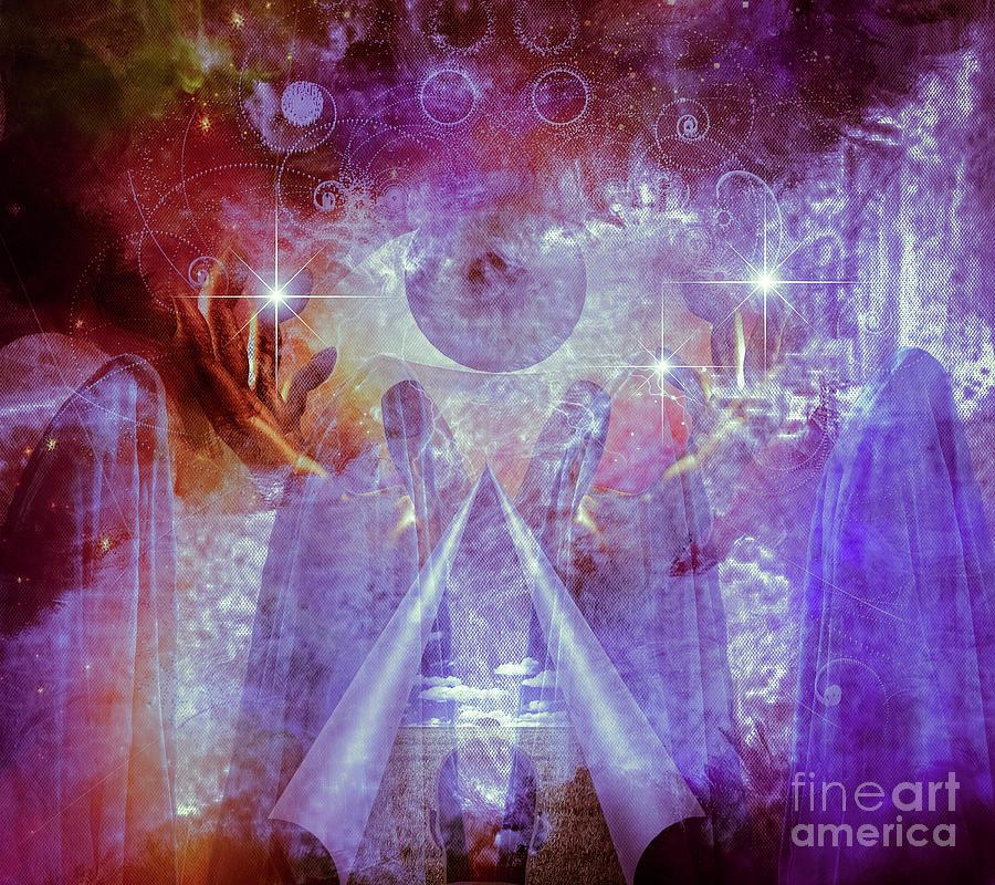 Mystical Priests Digital Art