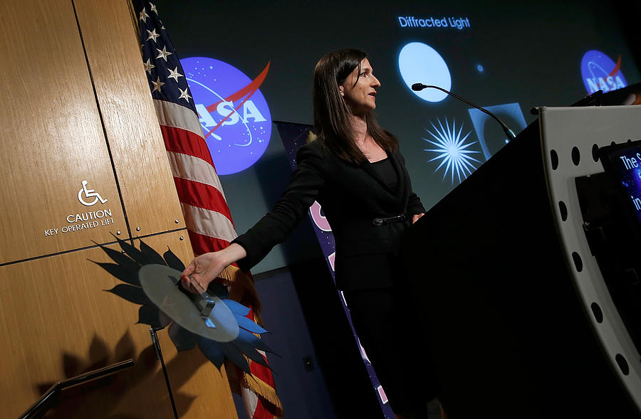 NASA Discusses Research Seeking Habitable Worlds Among The Stars Photograph by Win McNamee