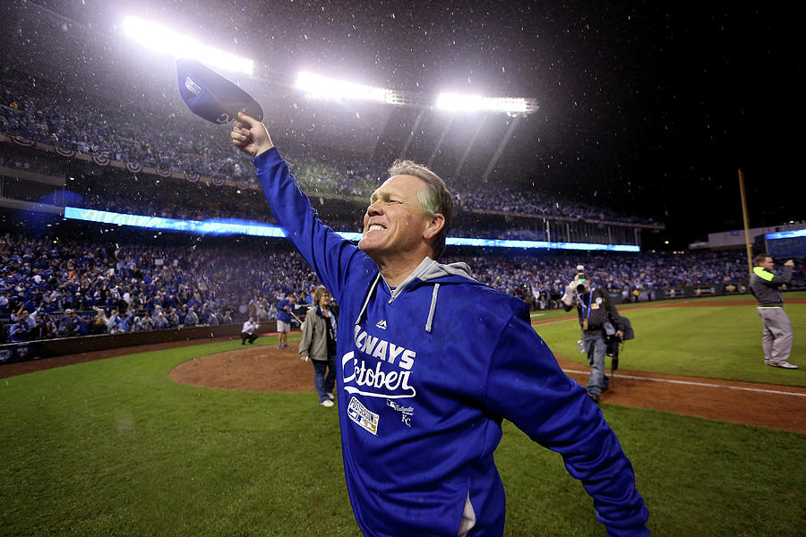 Ned Yost Photograph by Ed Zurga