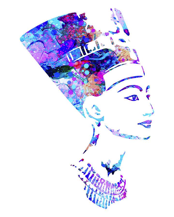 Nefertiti Painting - Nefertiti Art by Zuzi s