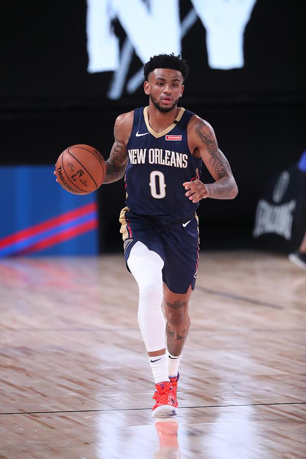 New Orleans Pelicans v Brooklyn Nets Photograph by Joe Murphy