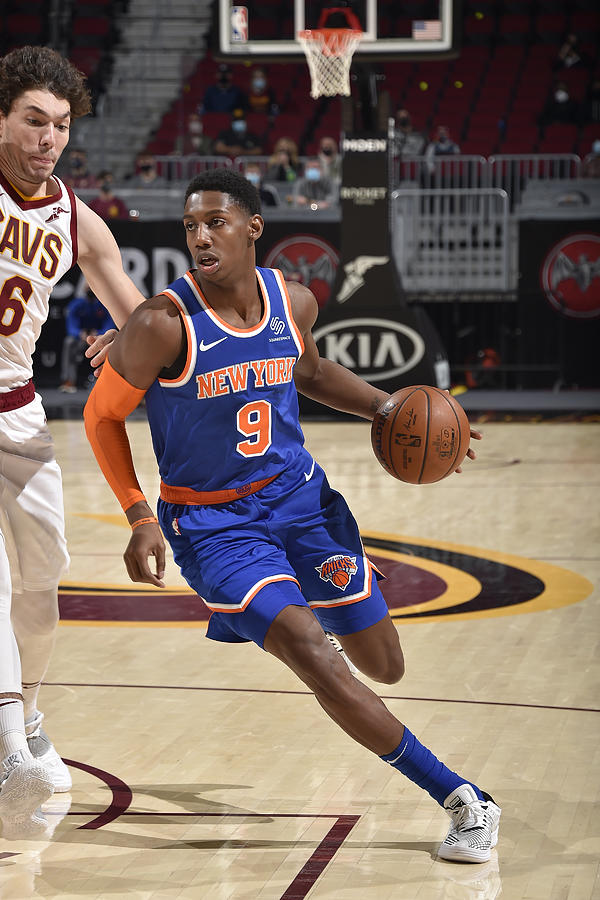 New York Knicks v Cleveland Cavaliers Photograph by David Liam Kyle