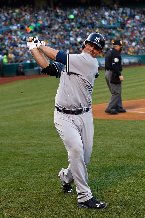 New York Yankees v Oakland Athletics Photograph by Jason O. Watson