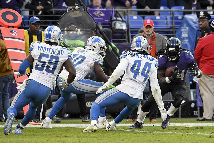 NFL: DEC 03 Lions at Ravens Photograph by Icon Sportswire
