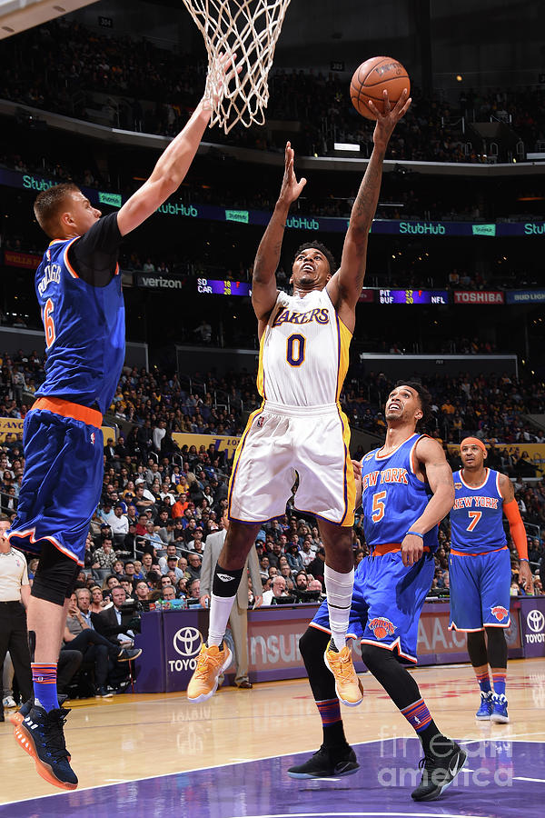 Nick Young Photograph by Andrew D. Bernstein