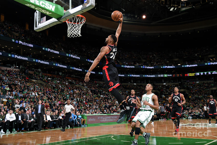 Norman Powell Photograph by Brian Babineau