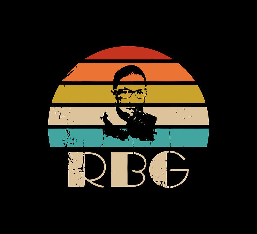 Notorious Rbg Digital Art