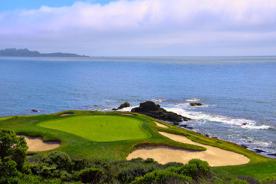 Number Seven At Pebble Beach Photograph