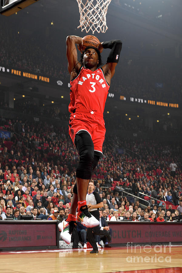 Og Anunoby Photograph by Ron Turenne
