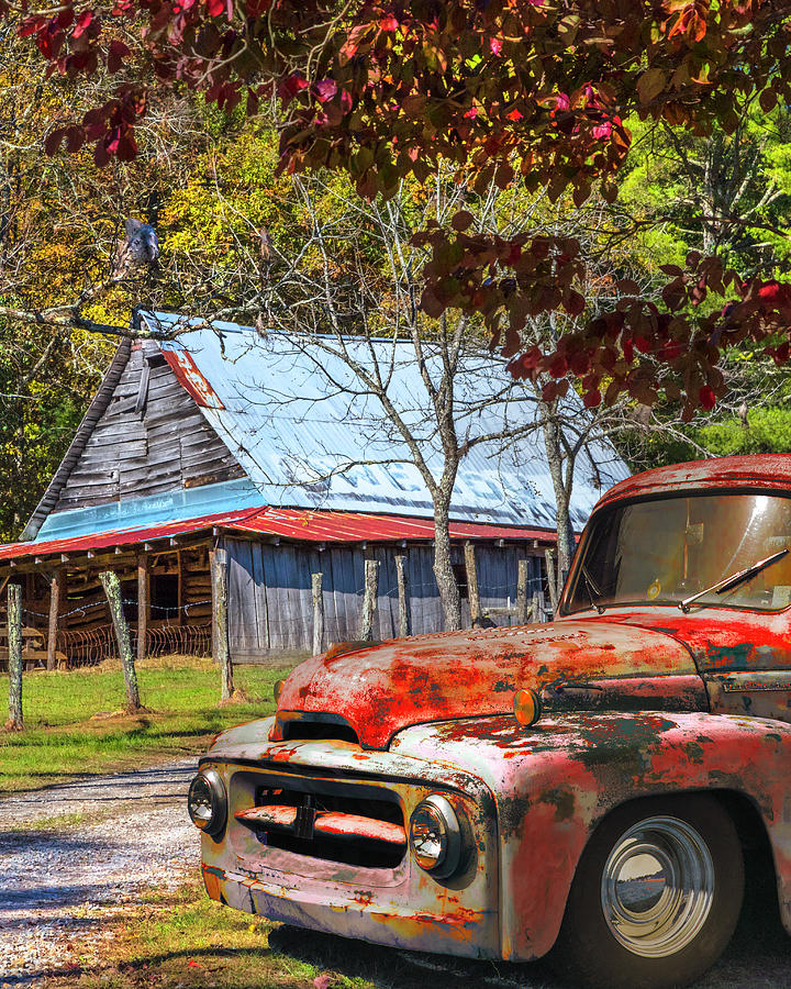 Ol' Country Rust II by Debra and Dave Vanderlaan