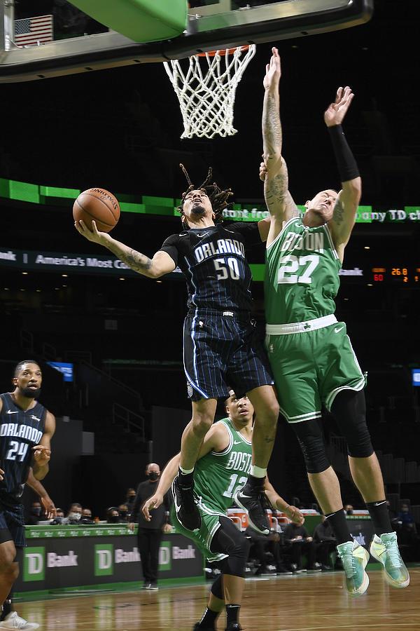 Orlando Magic v Boston Celtics Photograph by Brian Babineau