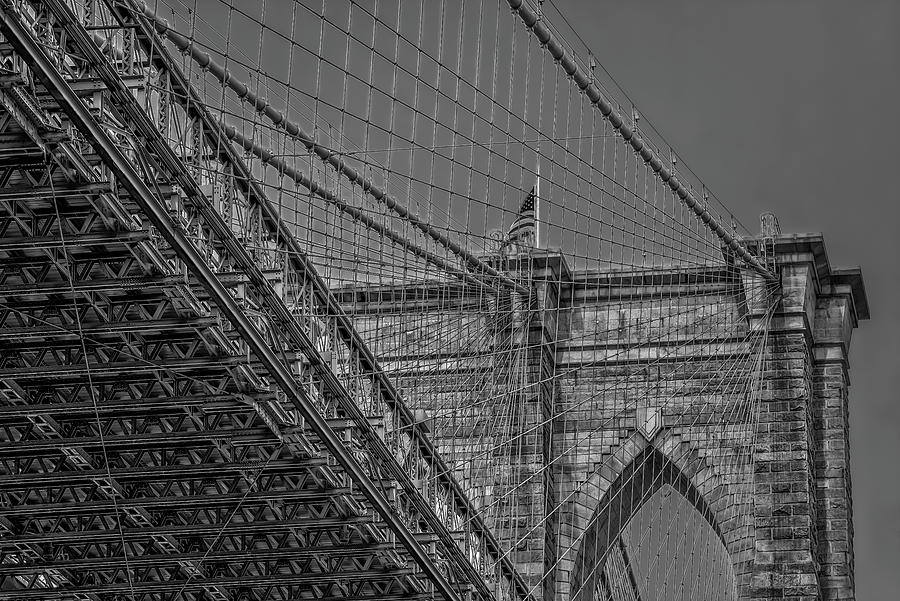 Over and Under Brooklyn Bridge  by Susan Candelario