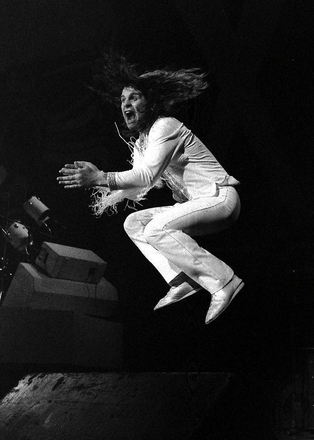 Ozzy Photograph - Ozzy Osbourne by Sue Arber