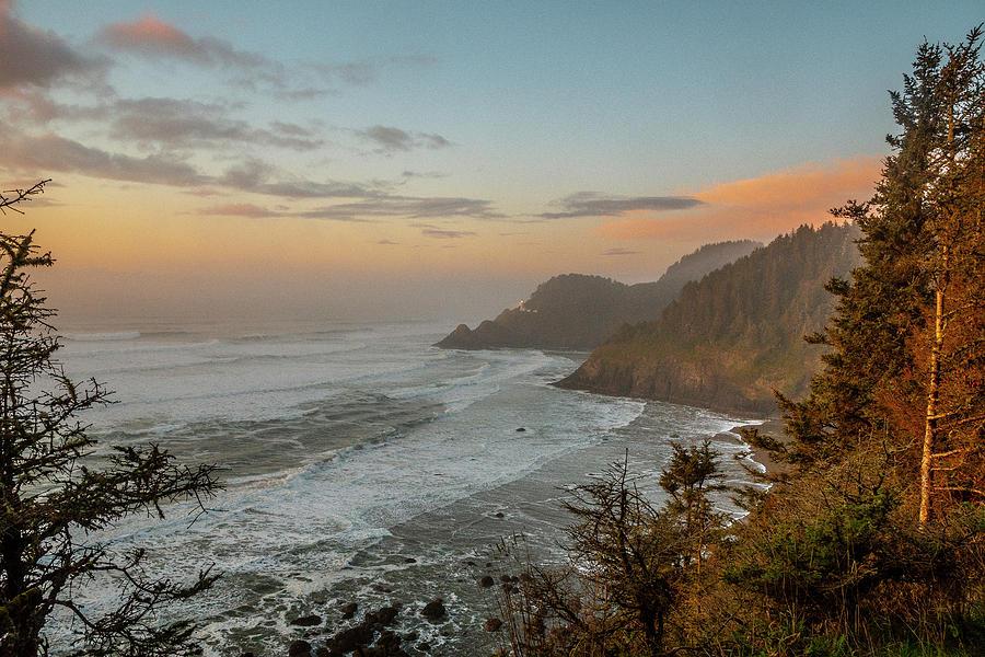Pacific Coast Evening by Matthew Irvin