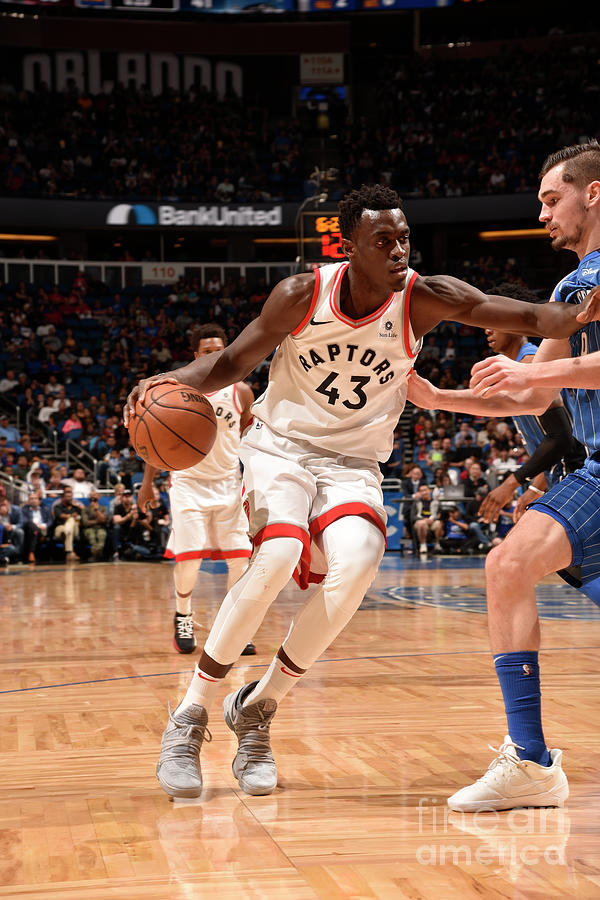 Pascal Siakam Photograph by Gary Bassing