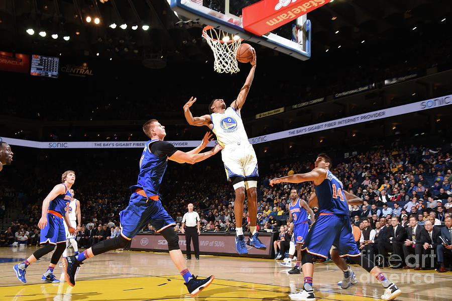 Patrick Mccaw Photograph by Andrew D. Bernstein
