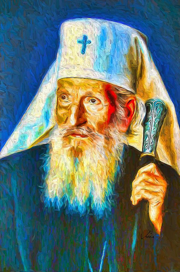 Patrijarh Pavle Portret - Portrait Painting