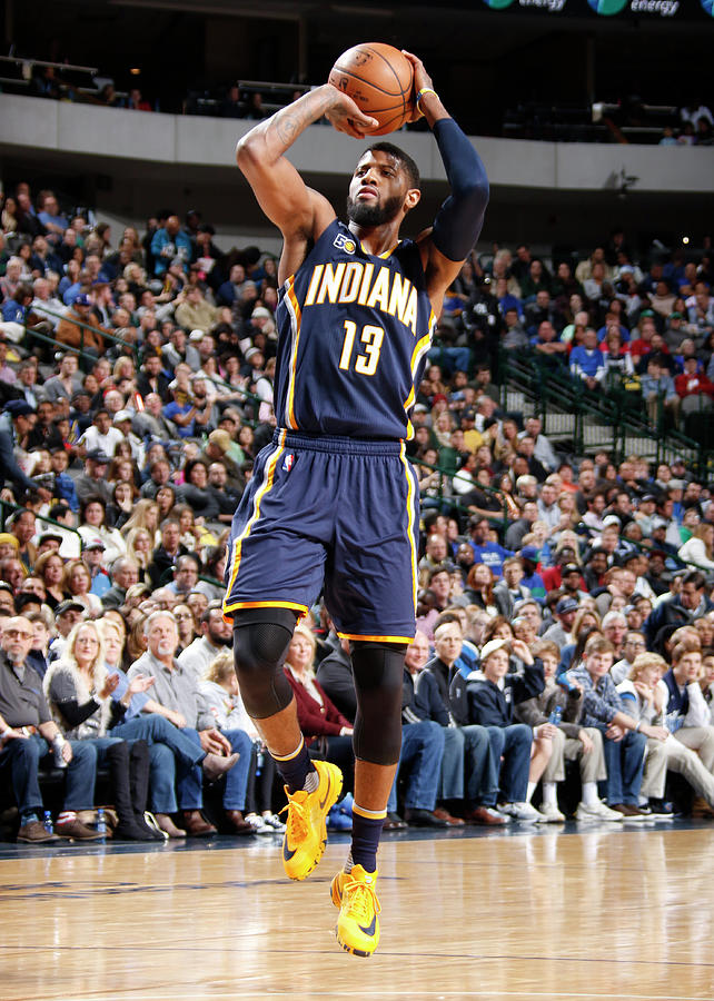 Paul George Photograph by Danny Bollinger