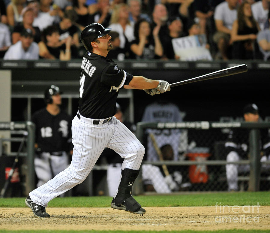 Paul Konerko Photograph by David Banks
