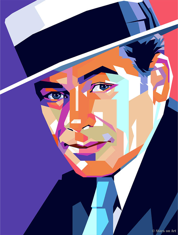 Paul Muni Painting