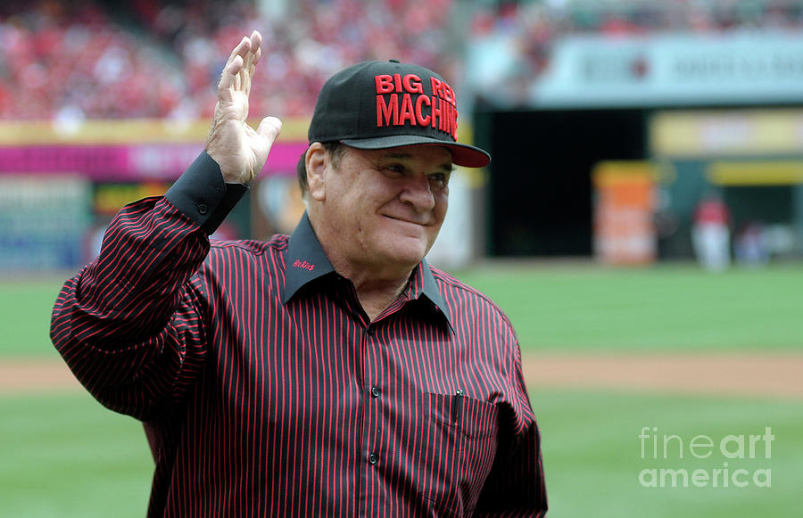 Pete Rose Photograph by Dylan Buell