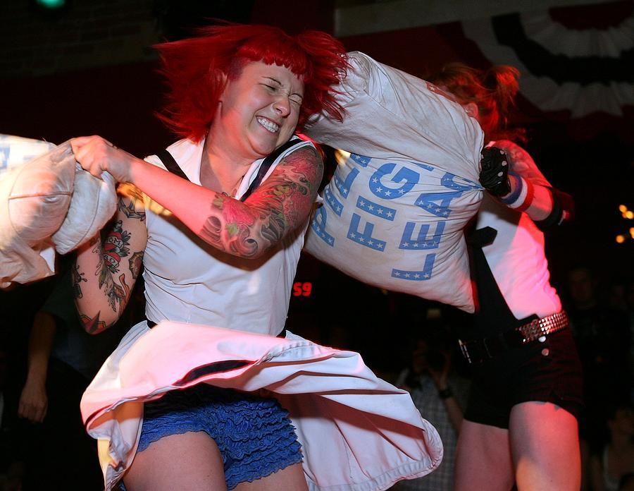 Pillow Fight League Photograph by Elsa