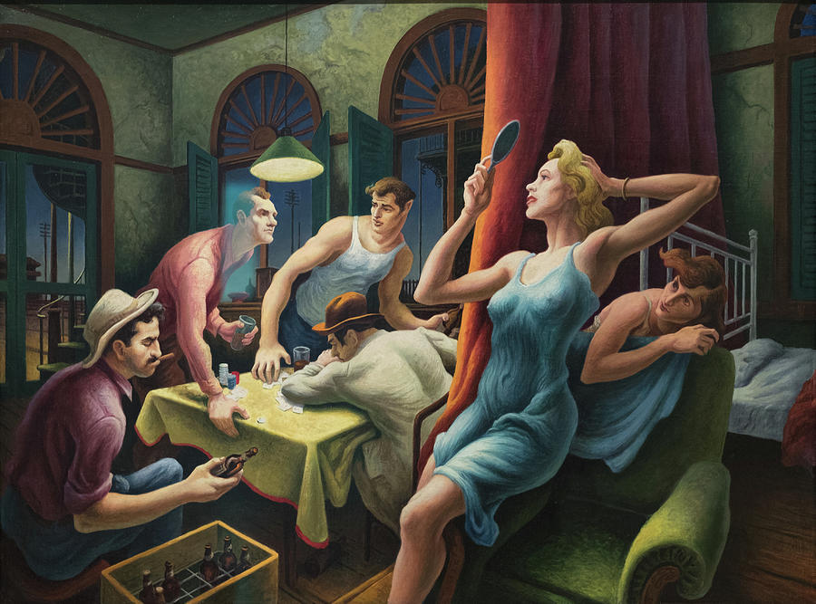 Poker Night From A Streetcar Named Desire Painting