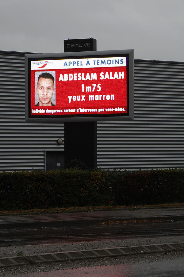 Police Search For Salah Abdeslam Photograph by Michele Tantussi